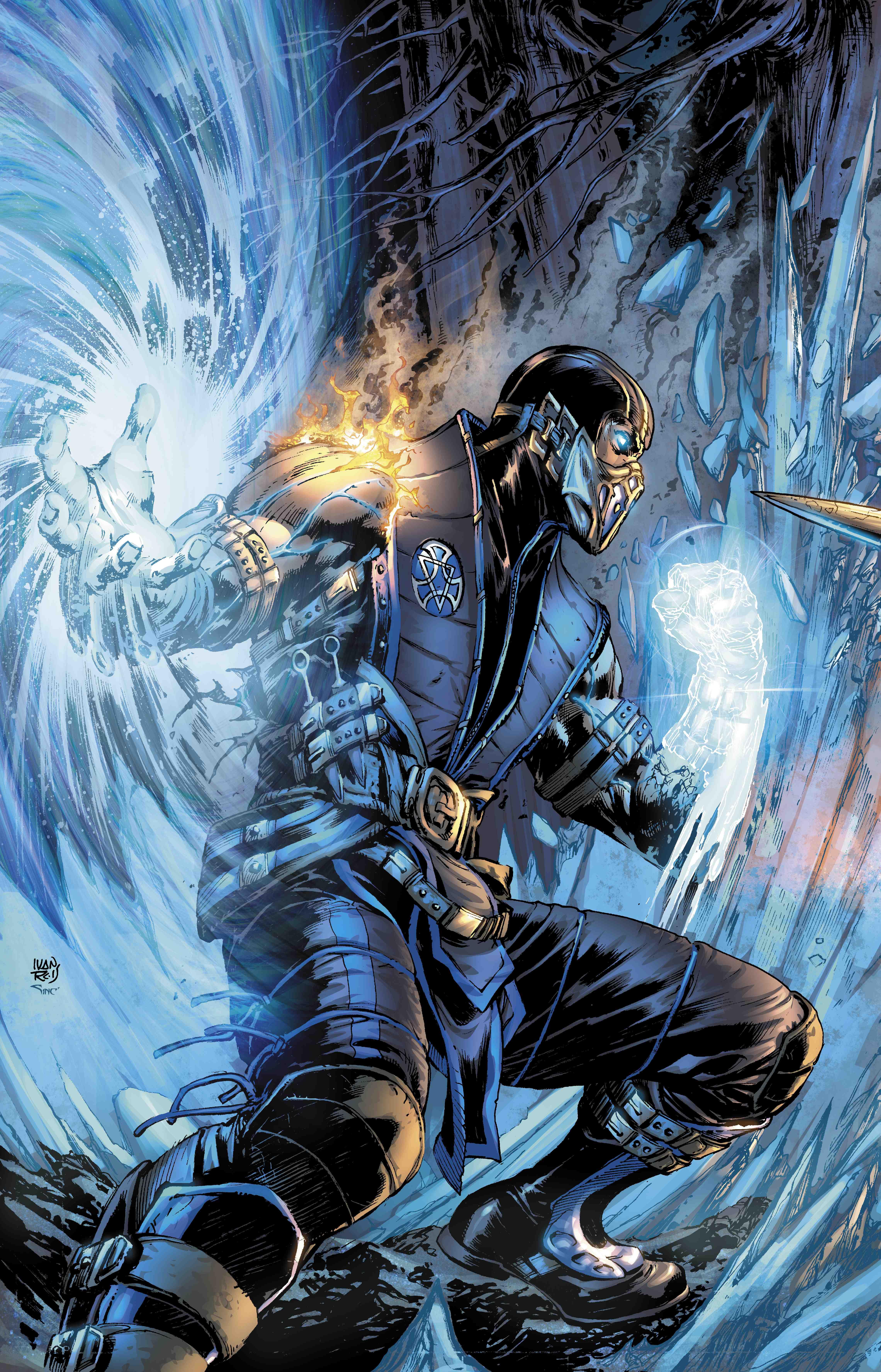 Mortal Kombat subzero art