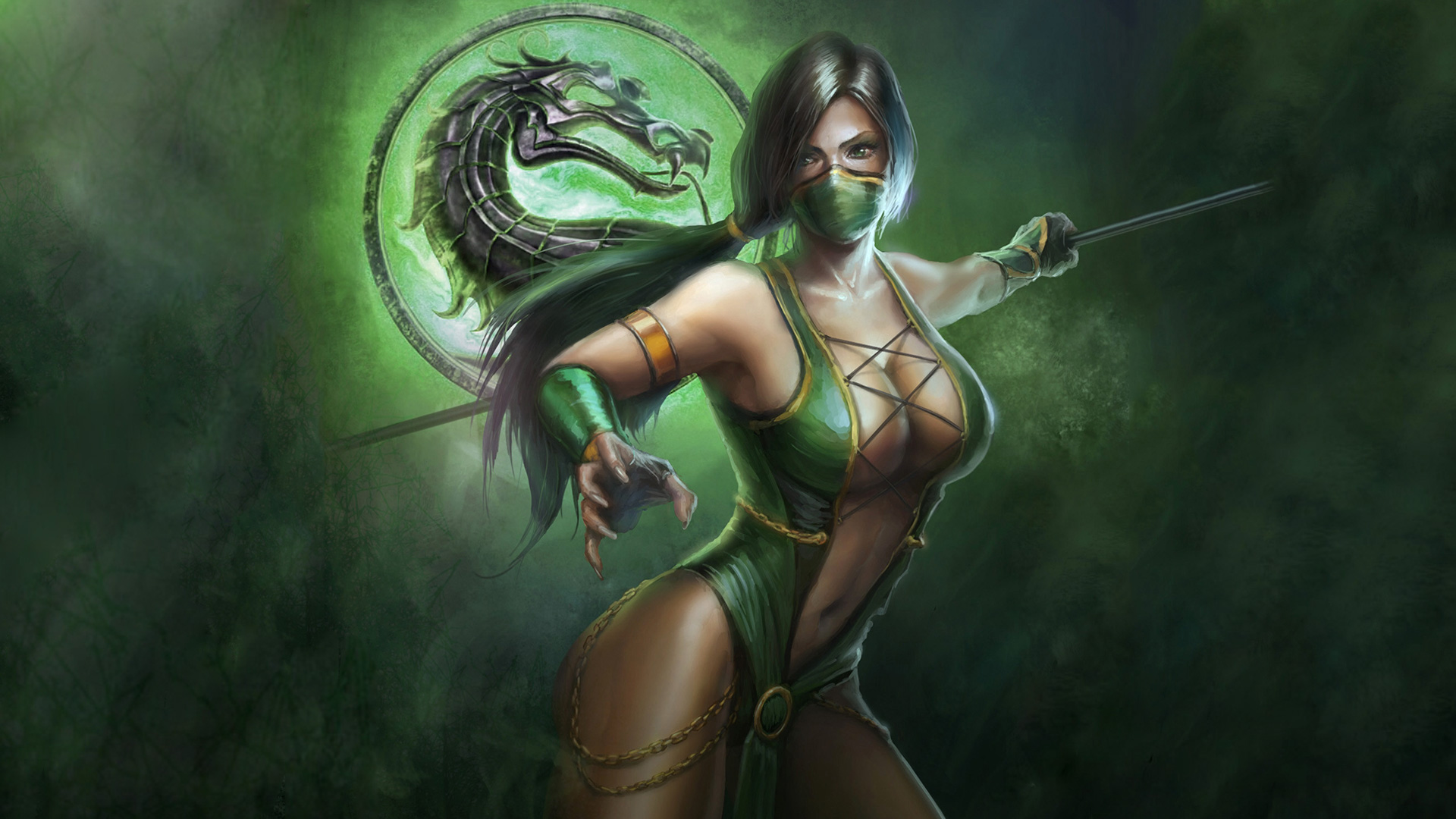 Mortal Kombat jade art
