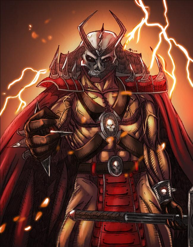 Mortal Kombat shao kahn art