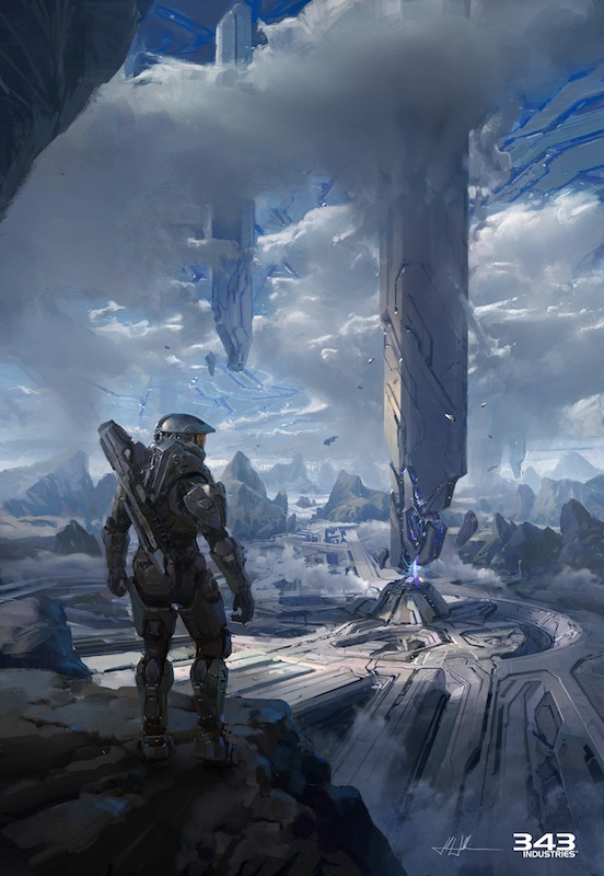 Halo official Art