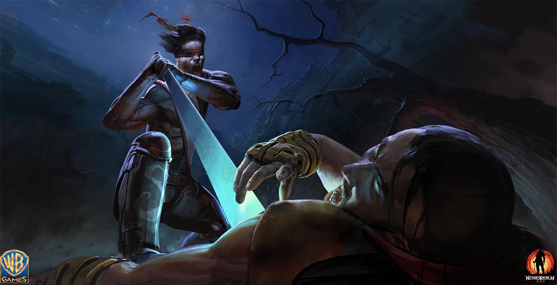Kenshi art Mortal Kombat