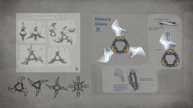 Mortal Kombat Concept Art kitana