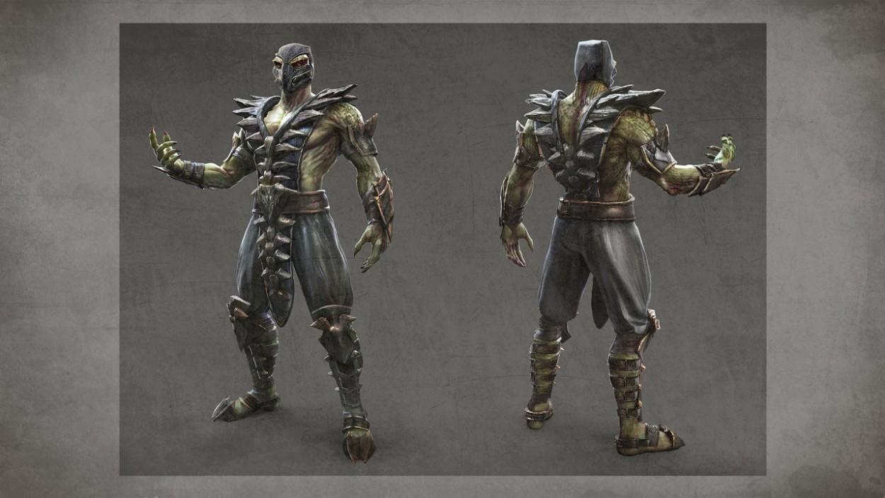 Mortal Kombat Concept Art reptile
