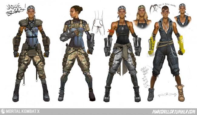Mortal Kombat art Jacqui Briggs