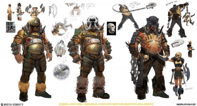 Mortal Kombat art Master Blaster