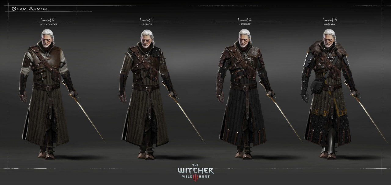 The Witcher 3 Geralt art