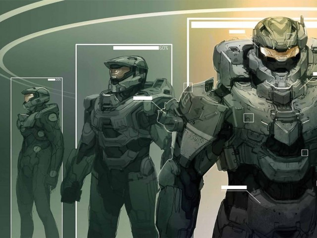 Halo character art