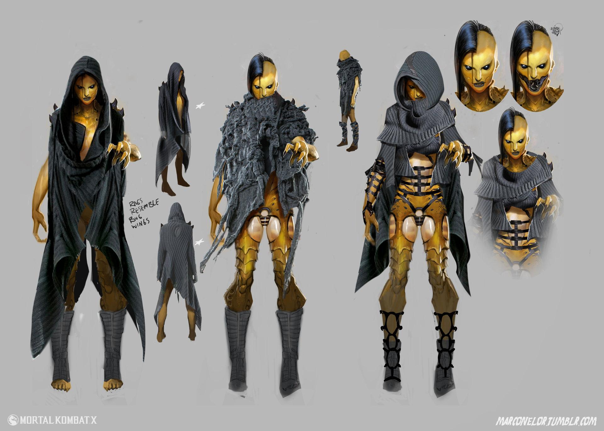 Mortal Kombat art dvorah
