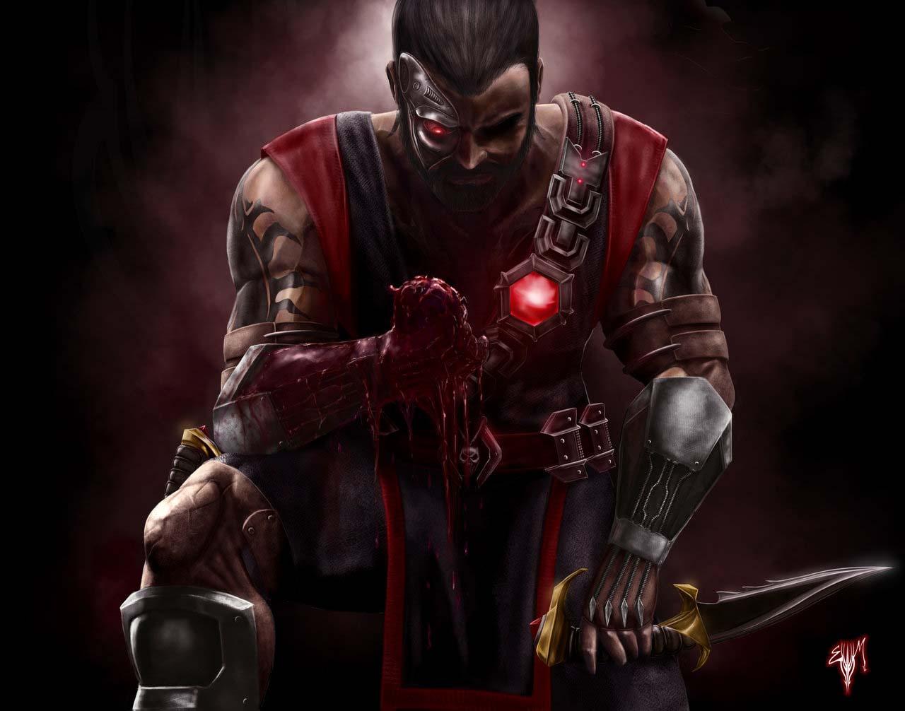 Mortal Kombat kano art
