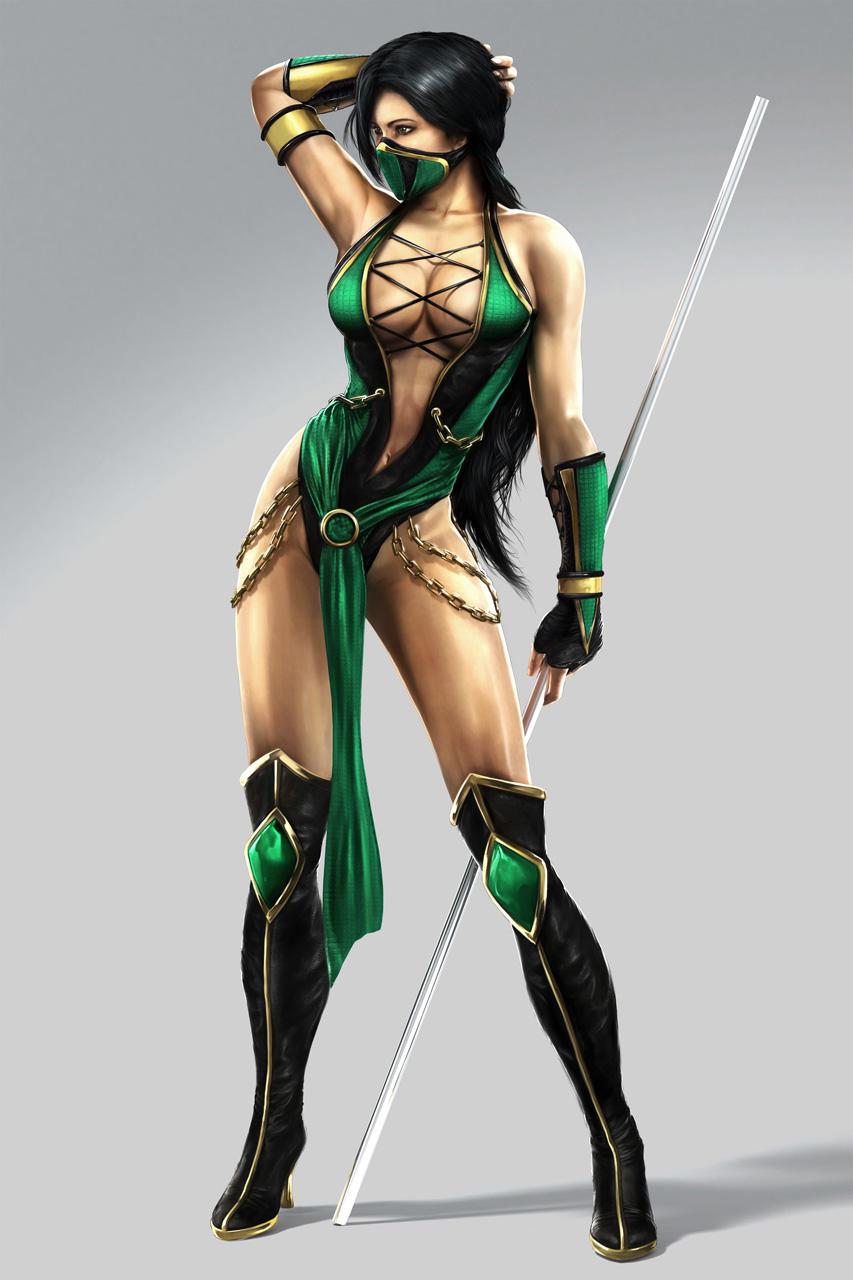 mortal kombat concept art jade