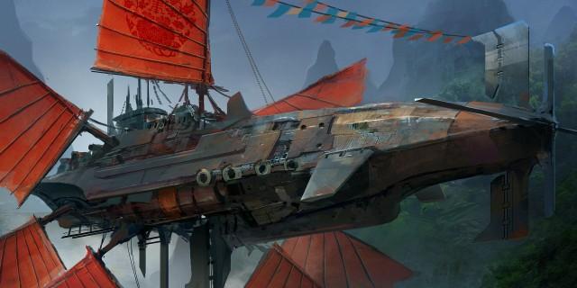 air ship concept art