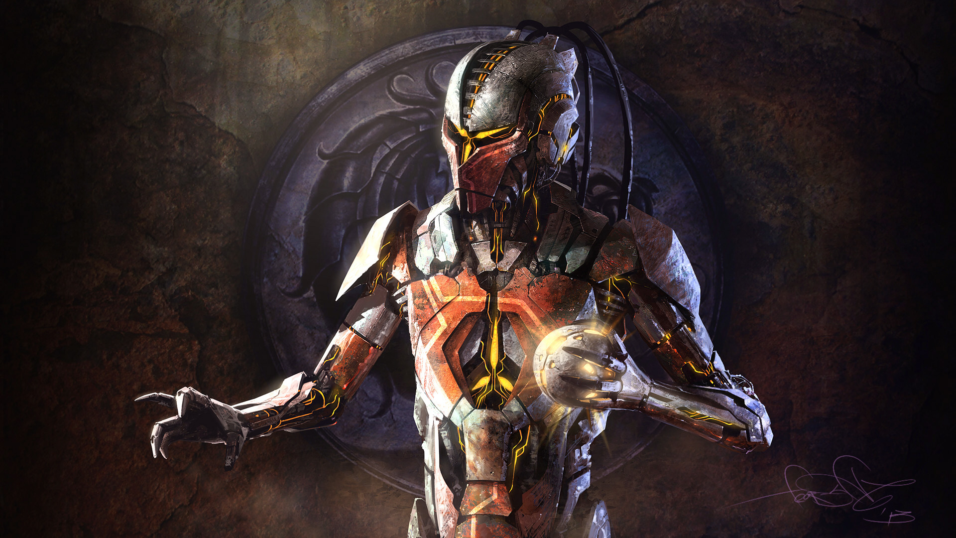 sektor Mortal Kombat art