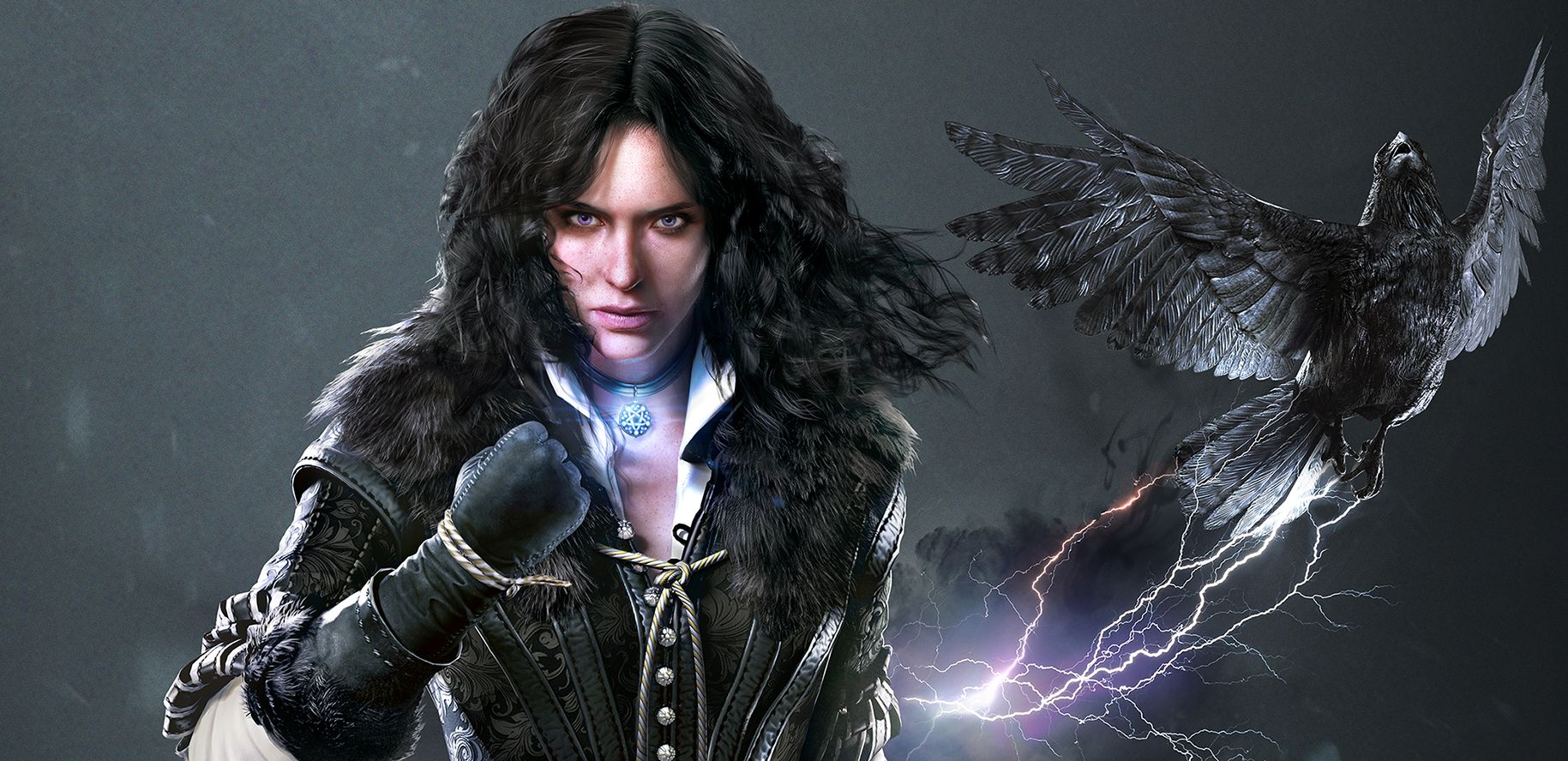 The Witcher 3 art Yennefer