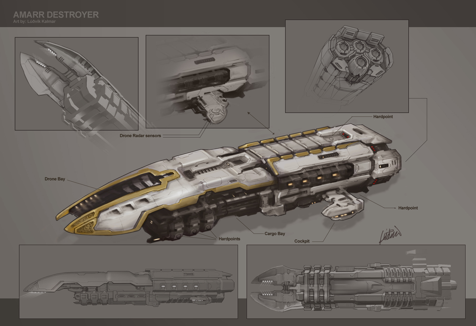 Eve: online concept art dragoon