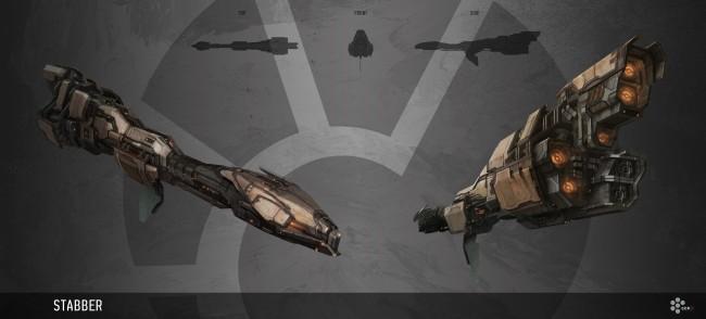 Eve: Online concept art stabber