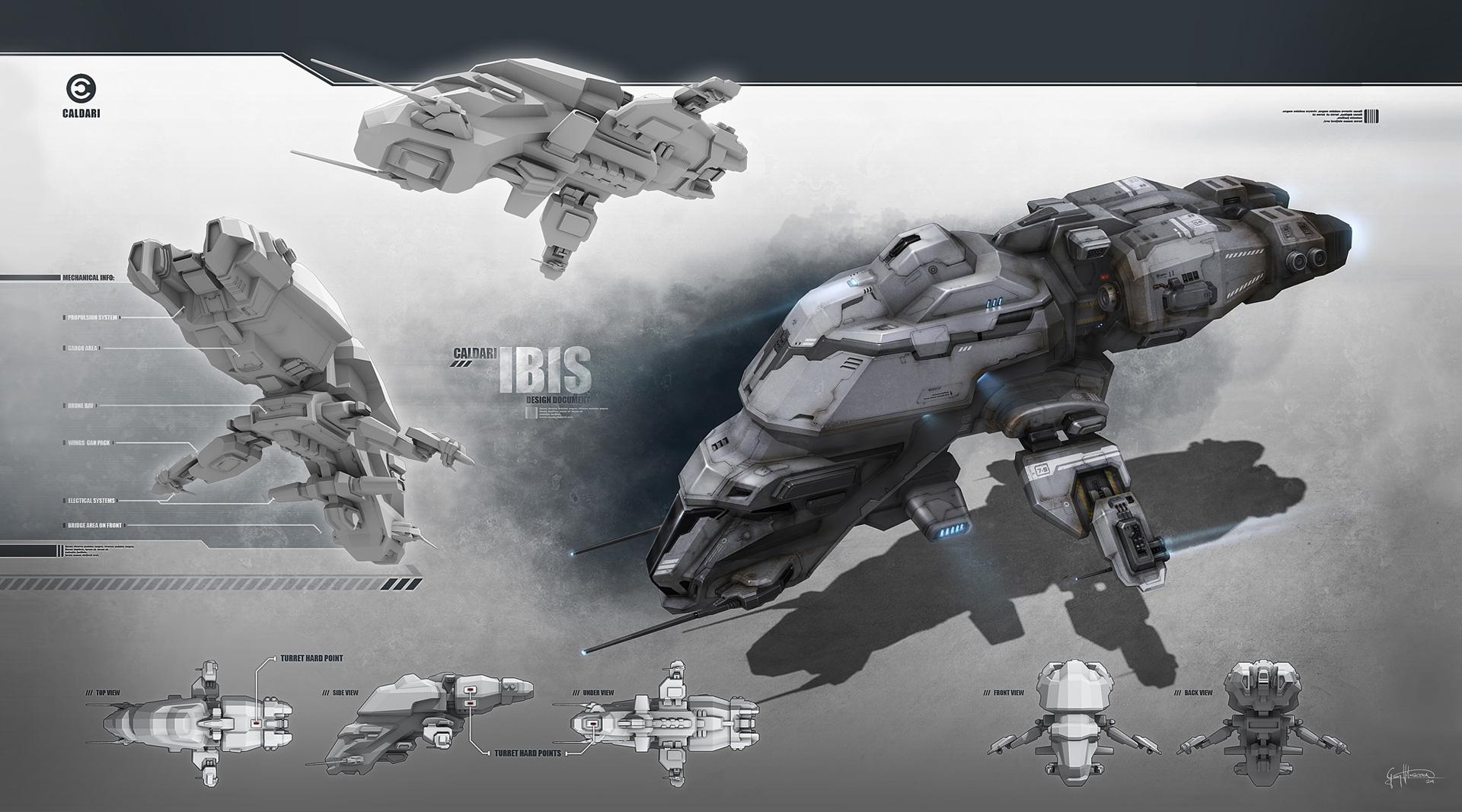 Eve: online concept art  ibis