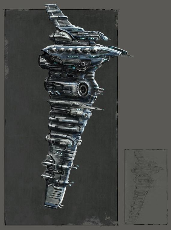 Eve: Online concept art myrmidon