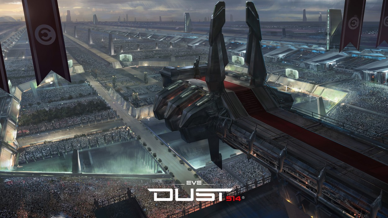 Dust 514 Eve concept art