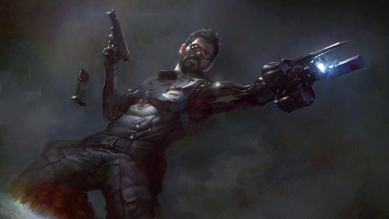 deus ex mankind divided art