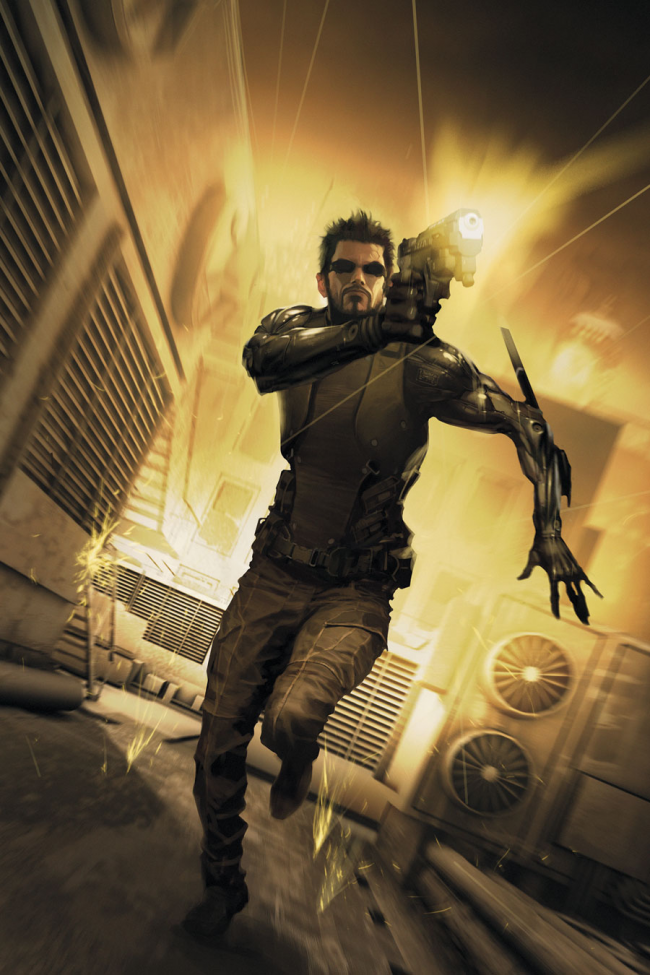 deus ex human revolution comic