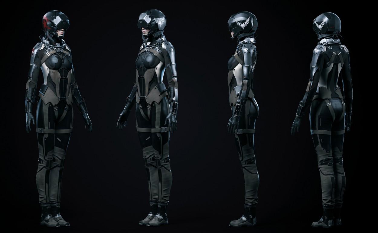 Eve Valkyrie concept art