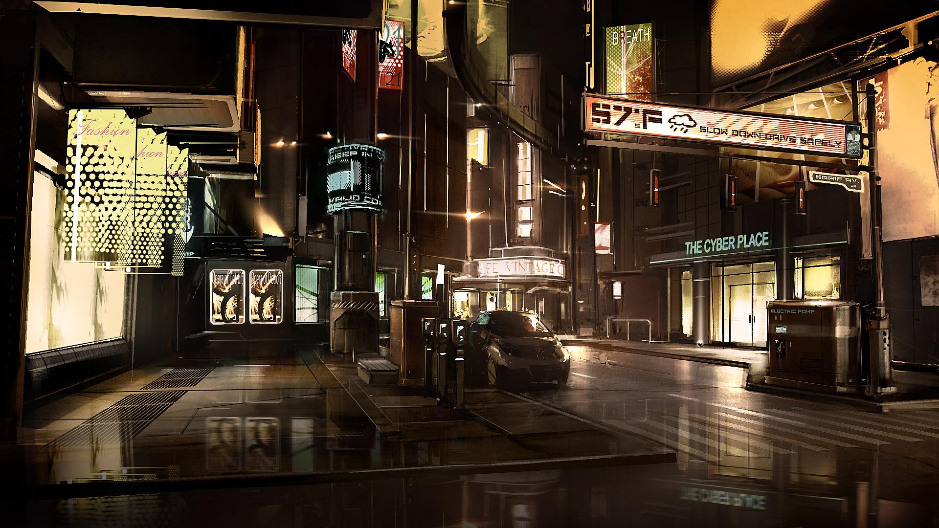 Deus Ex Human Revolution Концепт арт 62 изображения
