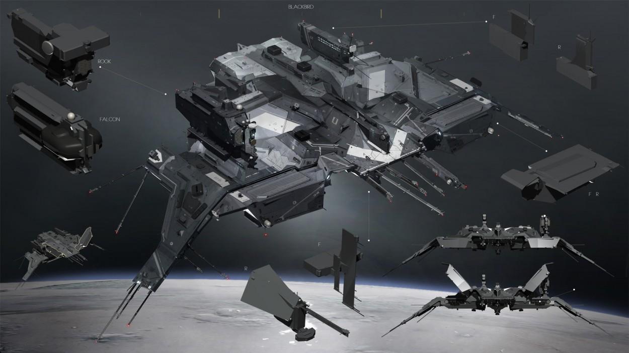 Eve: Online concept art blackbird