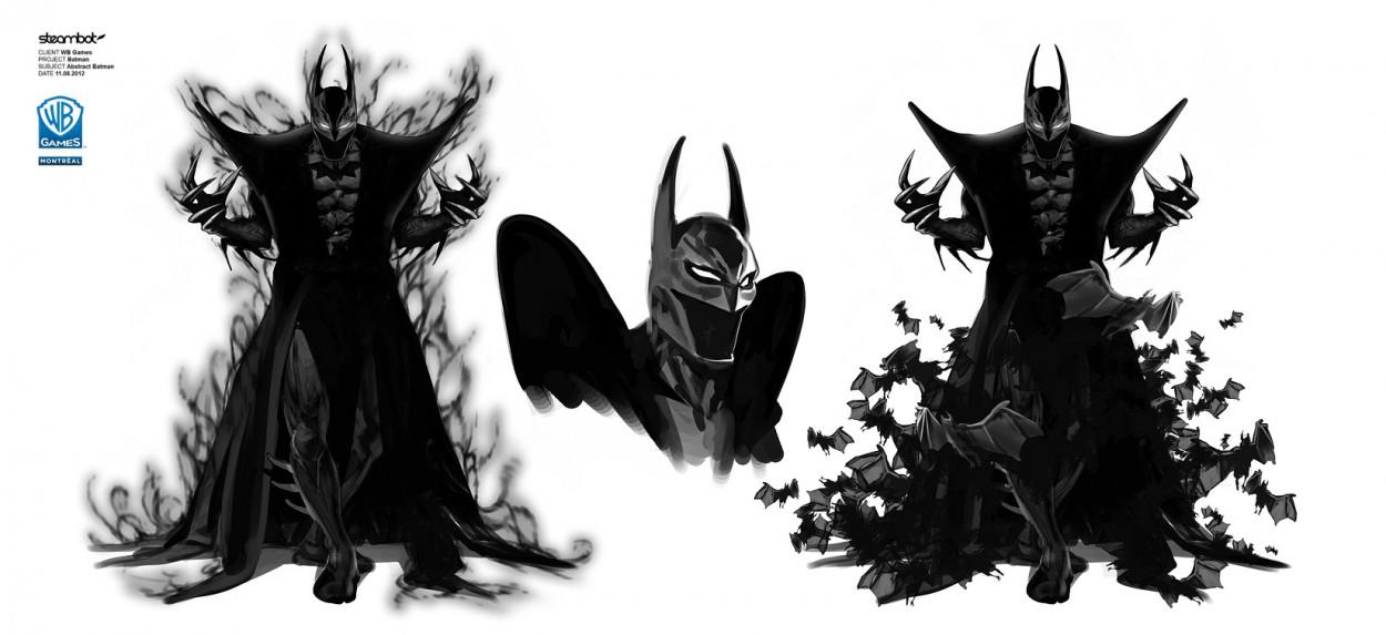 batman arkham knight skin art