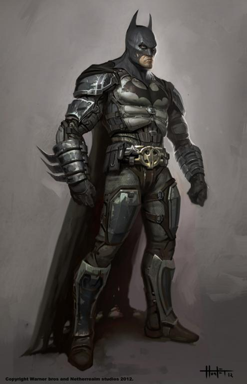 batman arkham knight art batman concept art