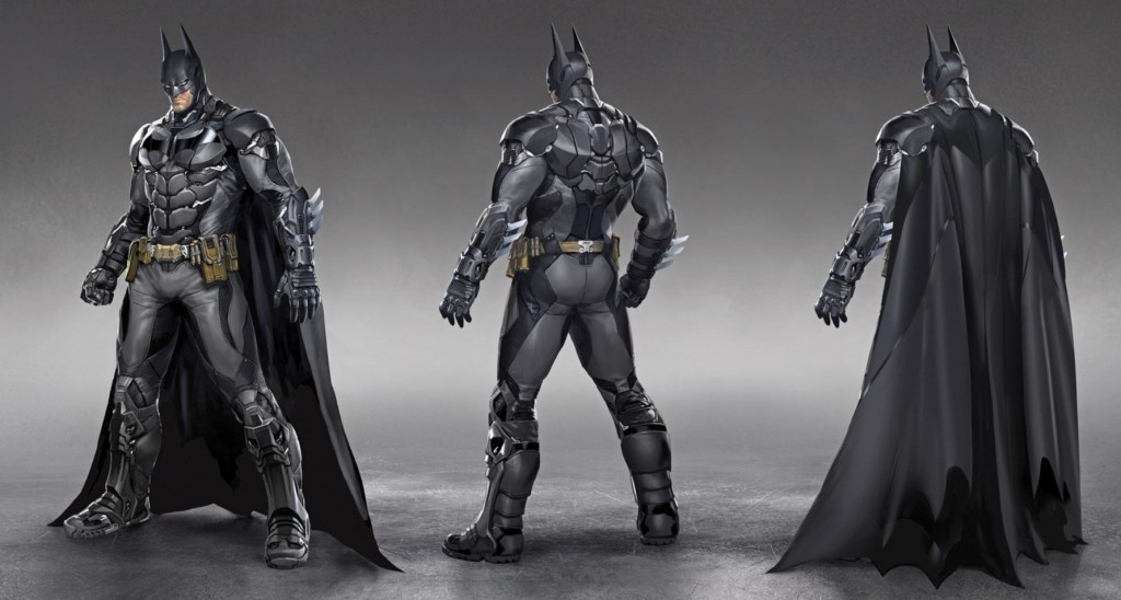 batman arkham knight costume concept art
