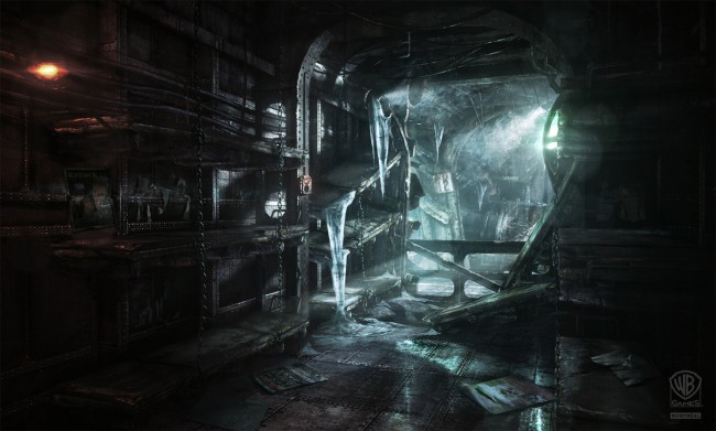 batman arkham knight location art Concept