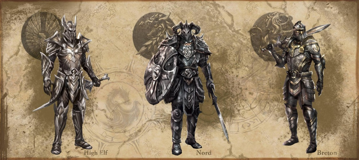 The Elder Scrolls: Online concept art HeavyArmor
