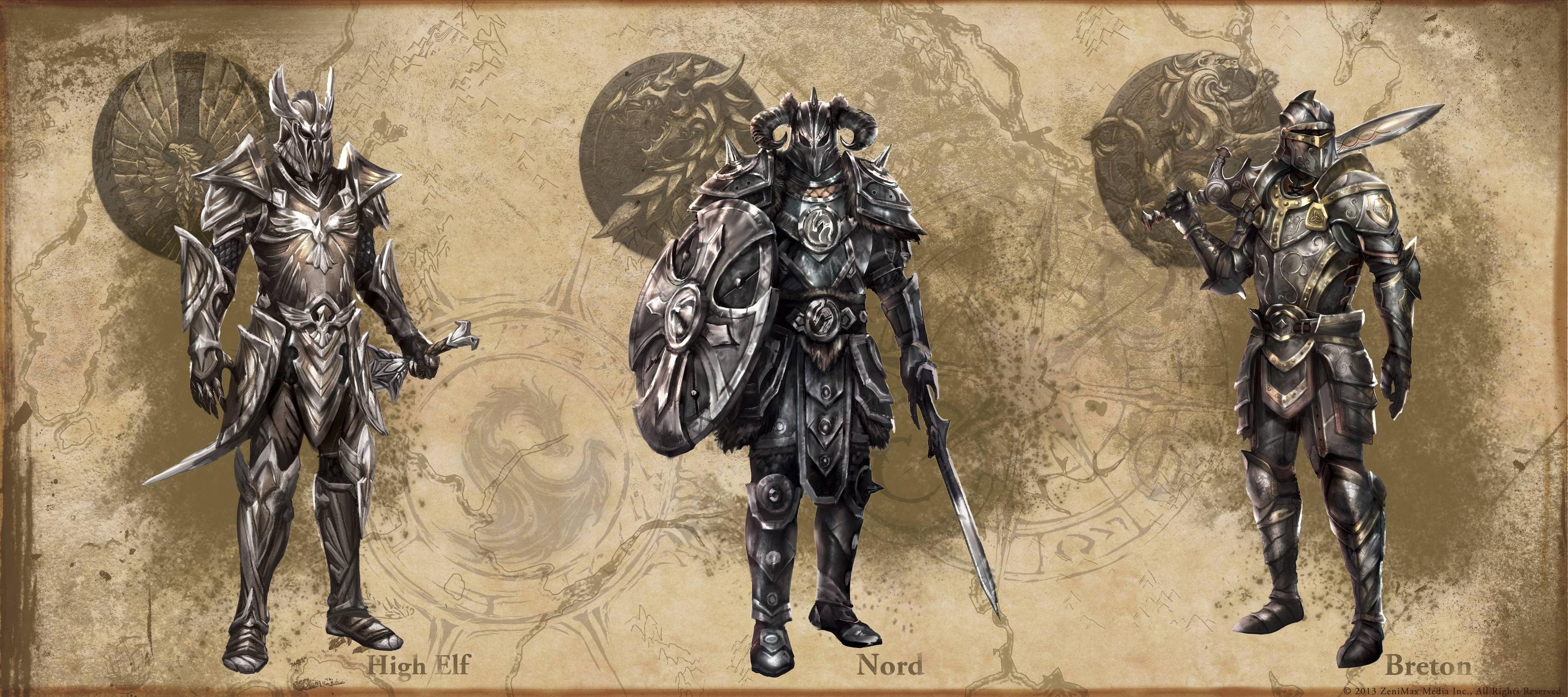 The Elder Scrolls: Online concept art HeavyArmor