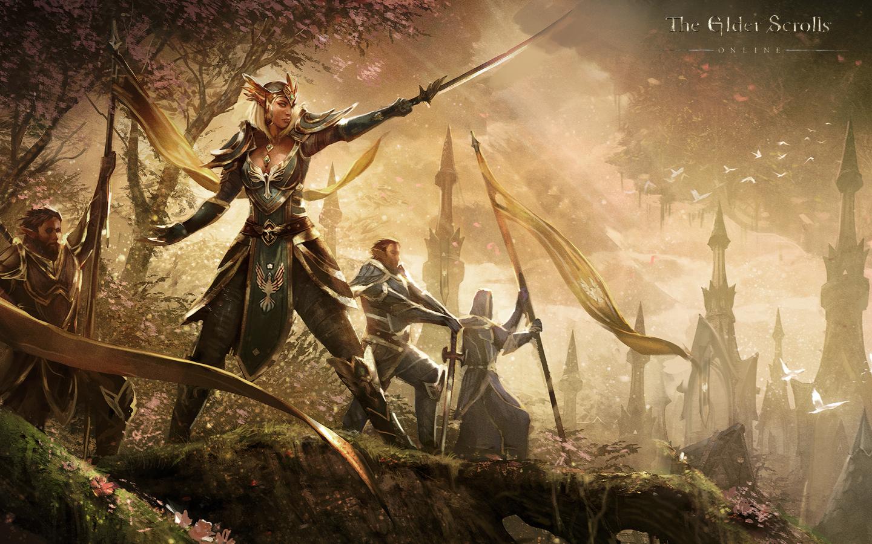 The Elder Scrolls: Online concept art Queen_Ayrenn