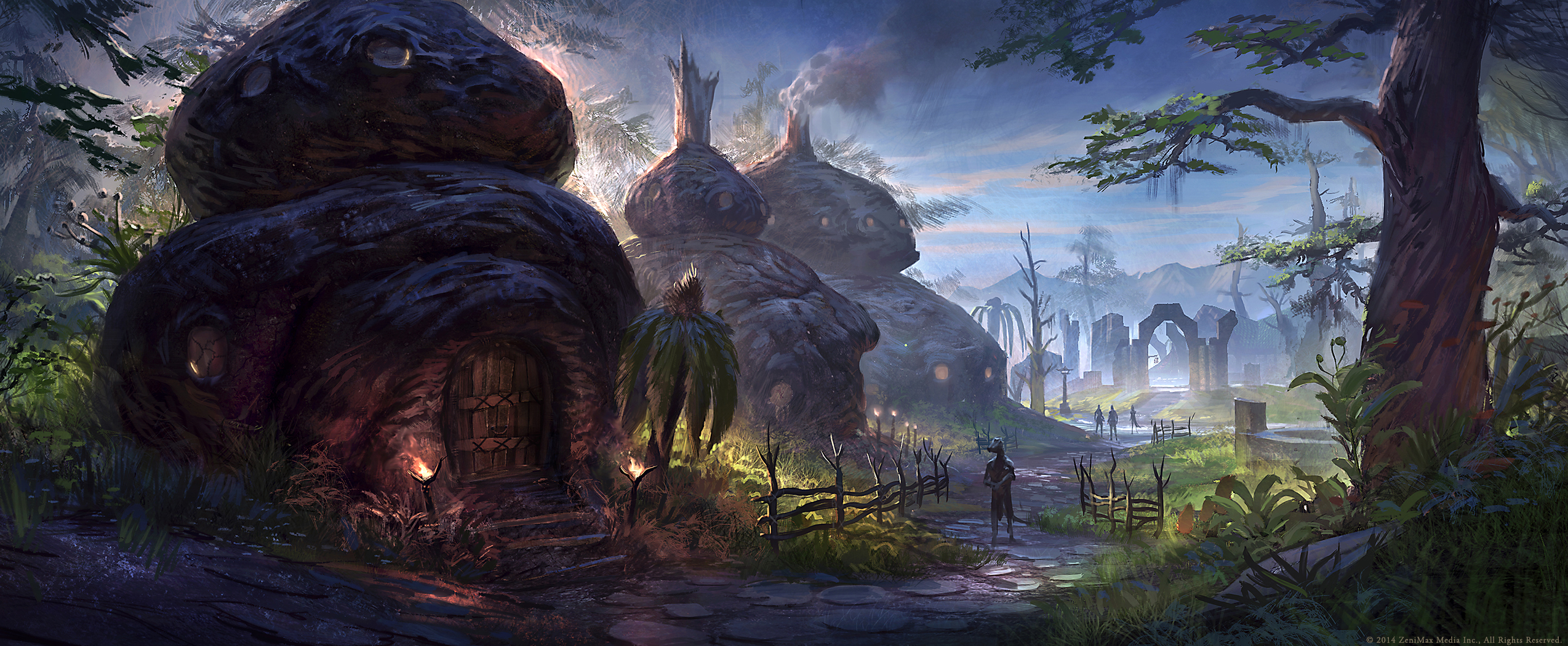 The Elder Scrolls: Online concept art Stormhold