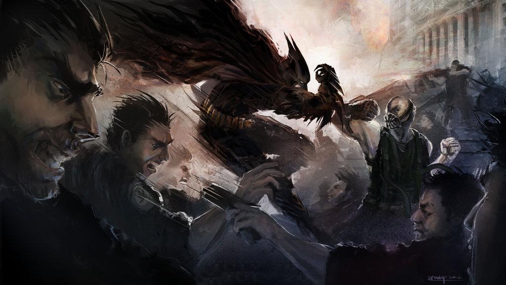 batman arkham knight fan art