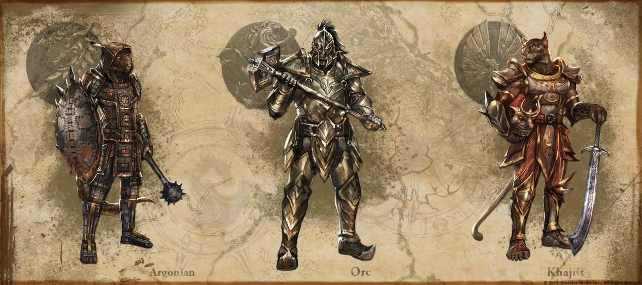 The Elder Scrolls: Online concept art Argonian Oec Khajiit