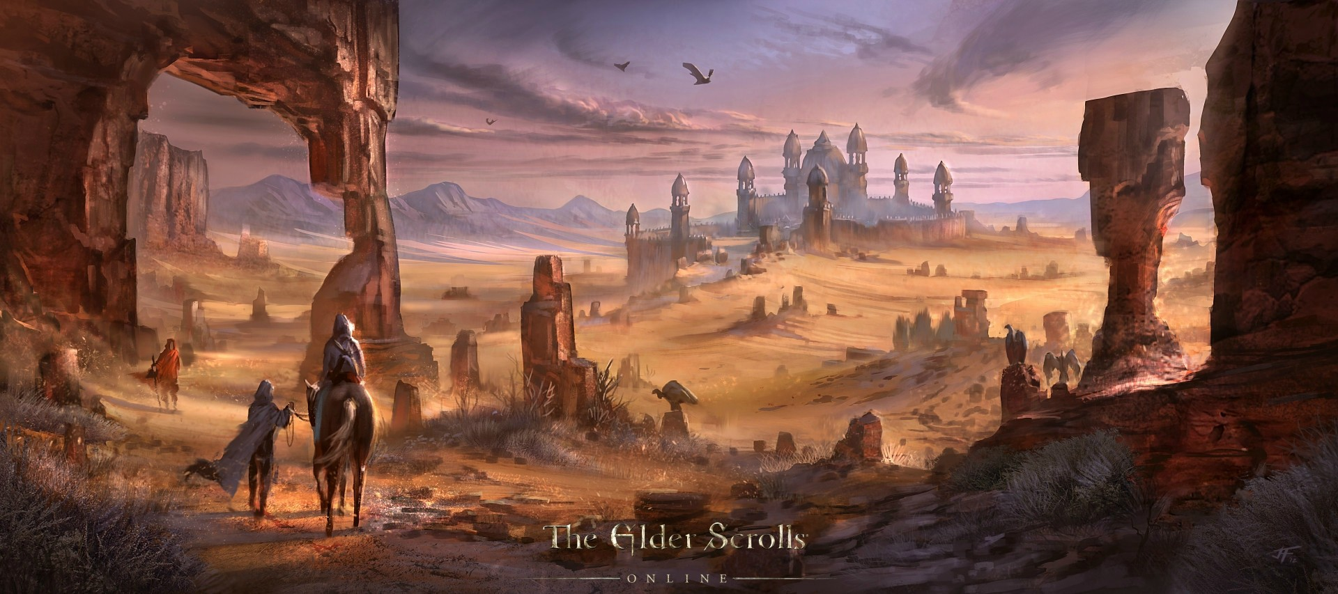The Elder Scrolls: Online concept art locations