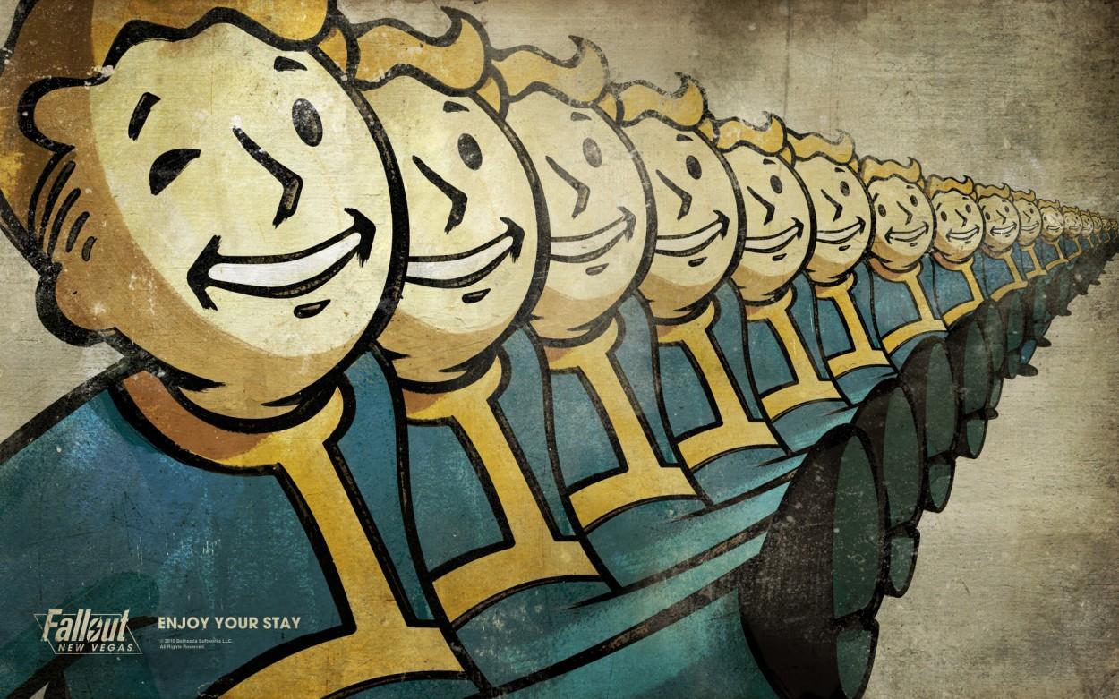 Fallout  concept art picture VaultBoys