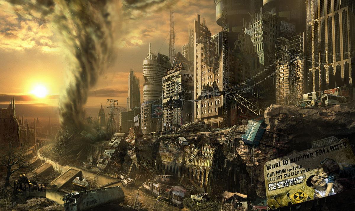 Fallout concept art picture выживание