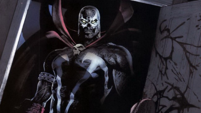 Spawn comics concept art по комиксам