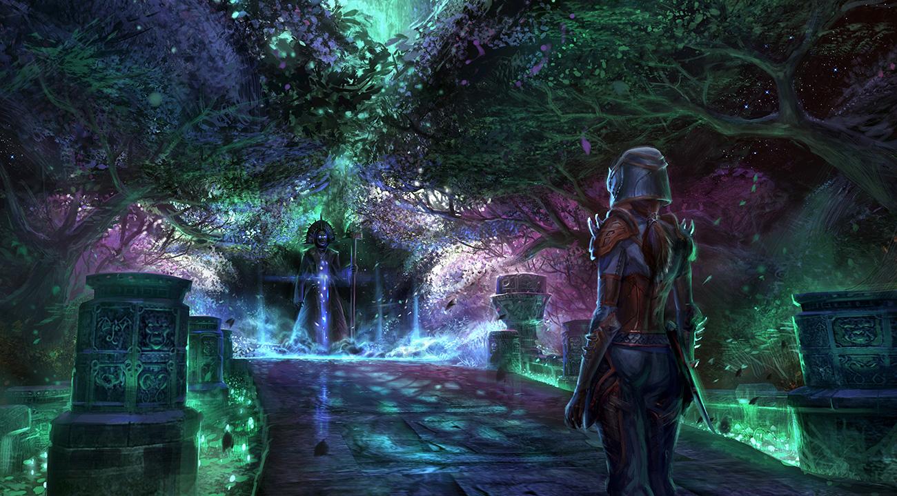 The Elder Scrolls: Online concept art Craglorn