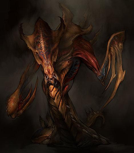 StarCraft 2 zerg concept art picture концепт Hydralisk