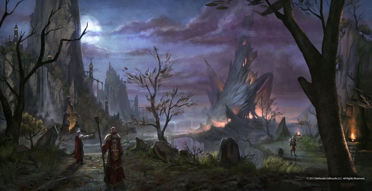 The Elder Scrolls: Online concept art Daggerfall
