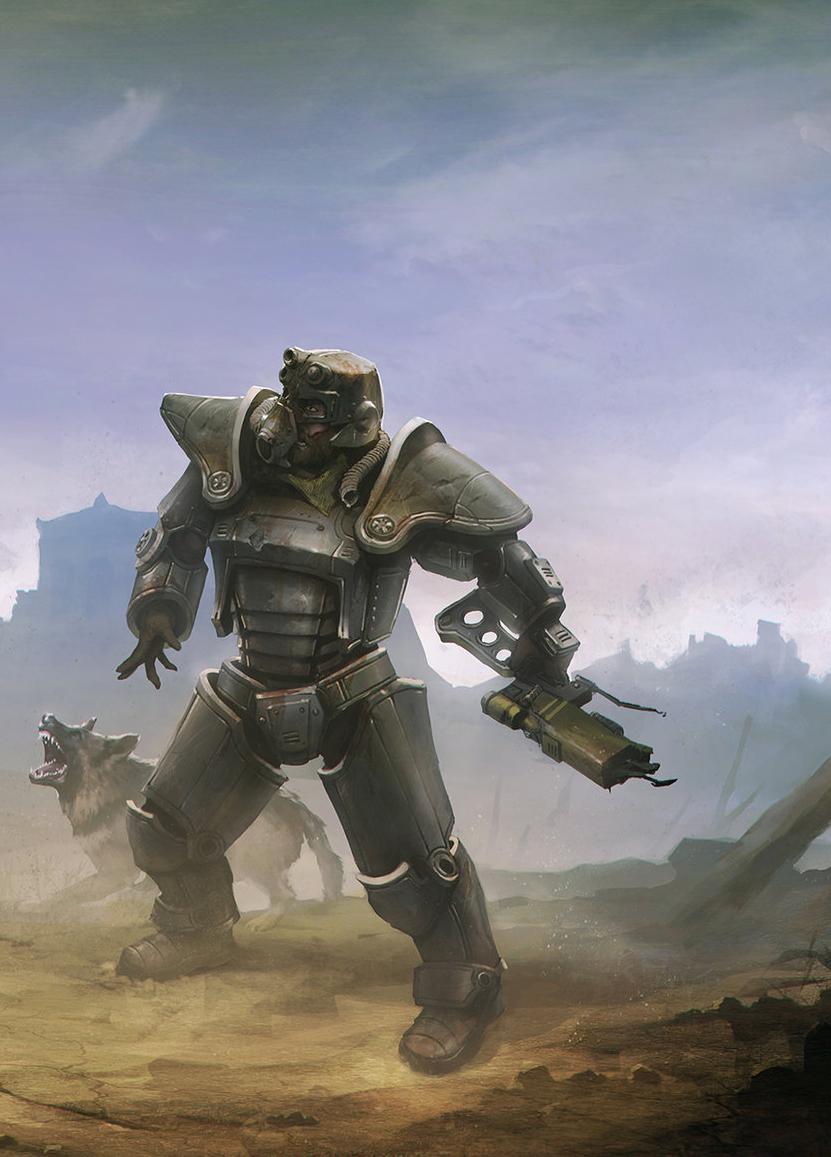 Постер Human (Fallout 4) original