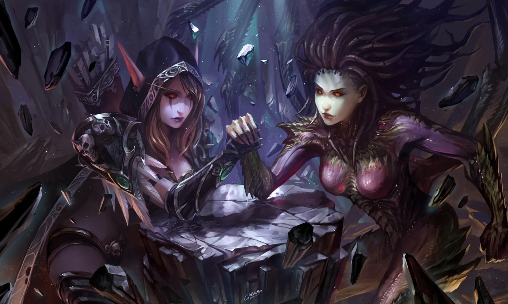 StarCraft 2 zerg concept art picture фан арт