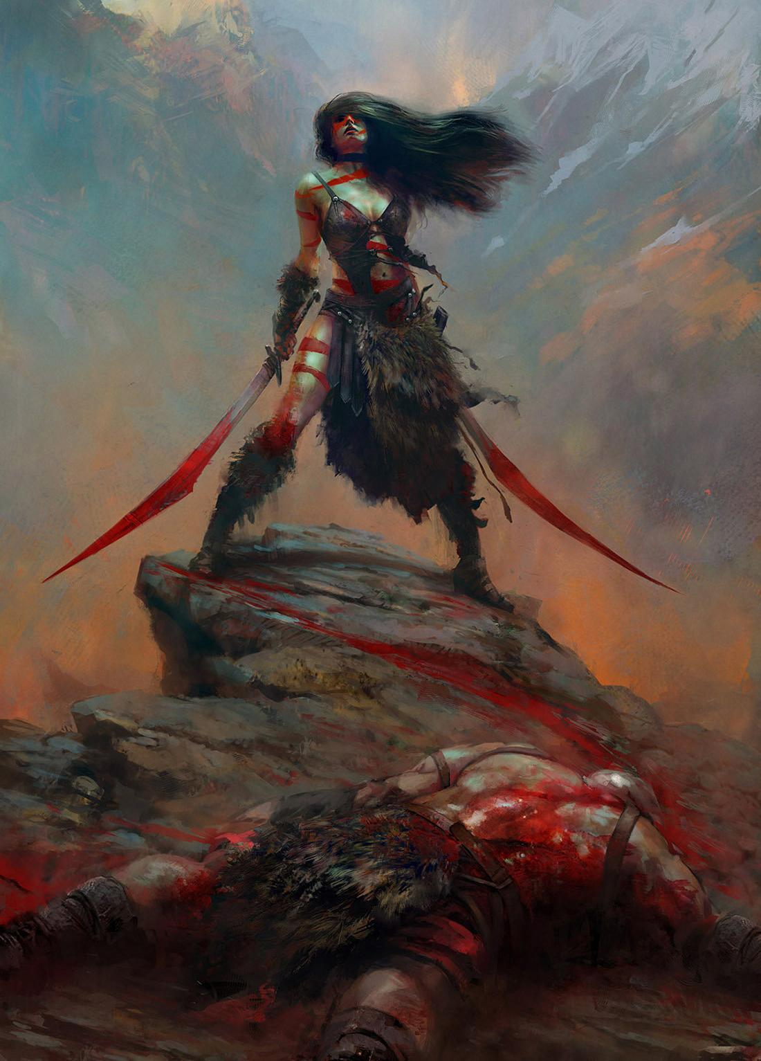 Постер Barbarian, W. O. original