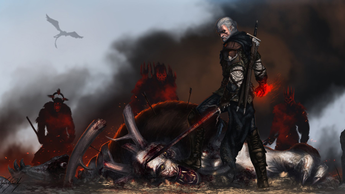 The Witcher 3 ArtBook art pictures