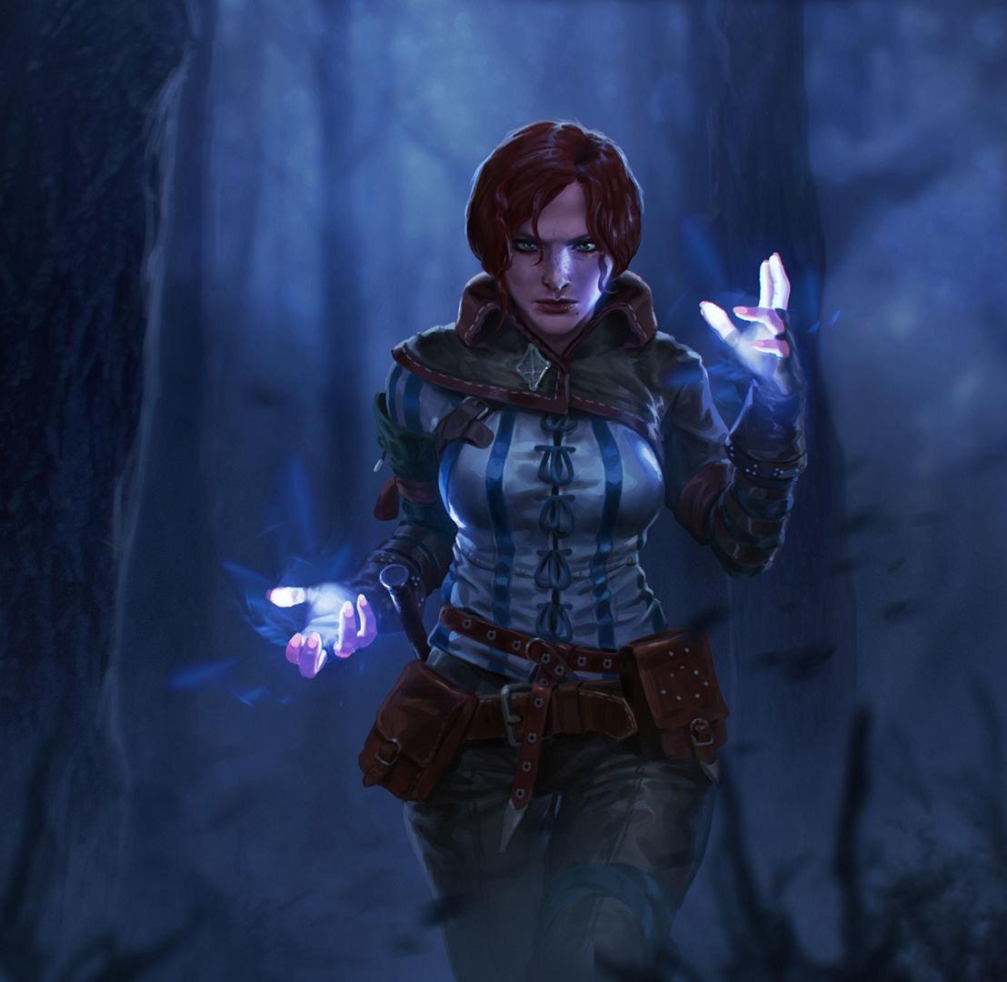 The Witcher 3 concept art picture Трисс Меригольд