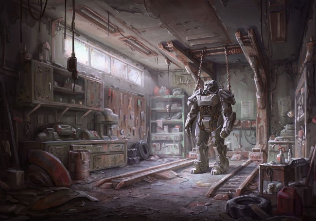 Fallout 4 concept art picture броня